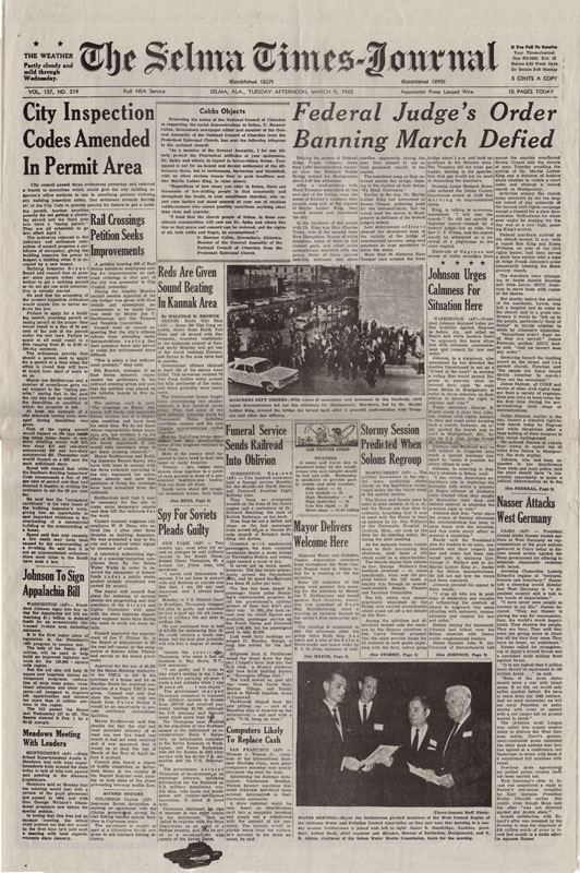 Selma Times Cover Pg no red marks copy