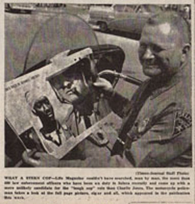 Selma Times, March 19, 1965 Cover photo Cop