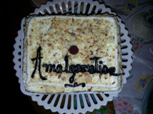 Book Babes Amalgamation Cake